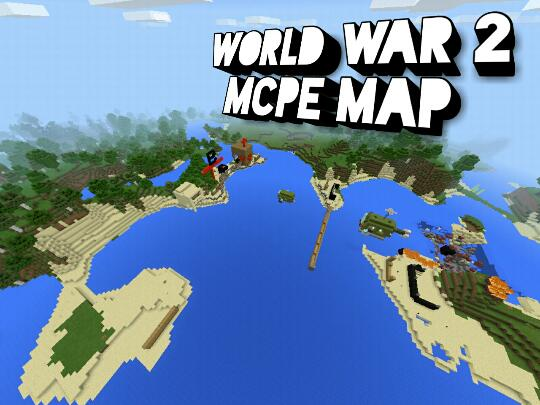Minecraft: Pocket Edition - World war 2 Mcpe map - Omlet Arcade