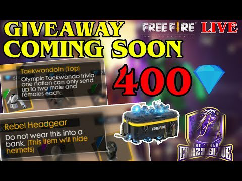 Garena Free Fire - GIVEAWAY COMING SOON FREEFIRE || SUB AND