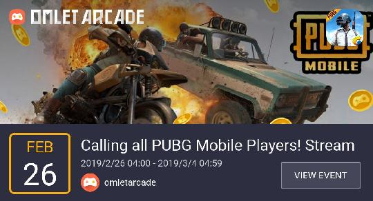 PUBG MOBILE - Calling all PUBG Mobile Players! Stream and