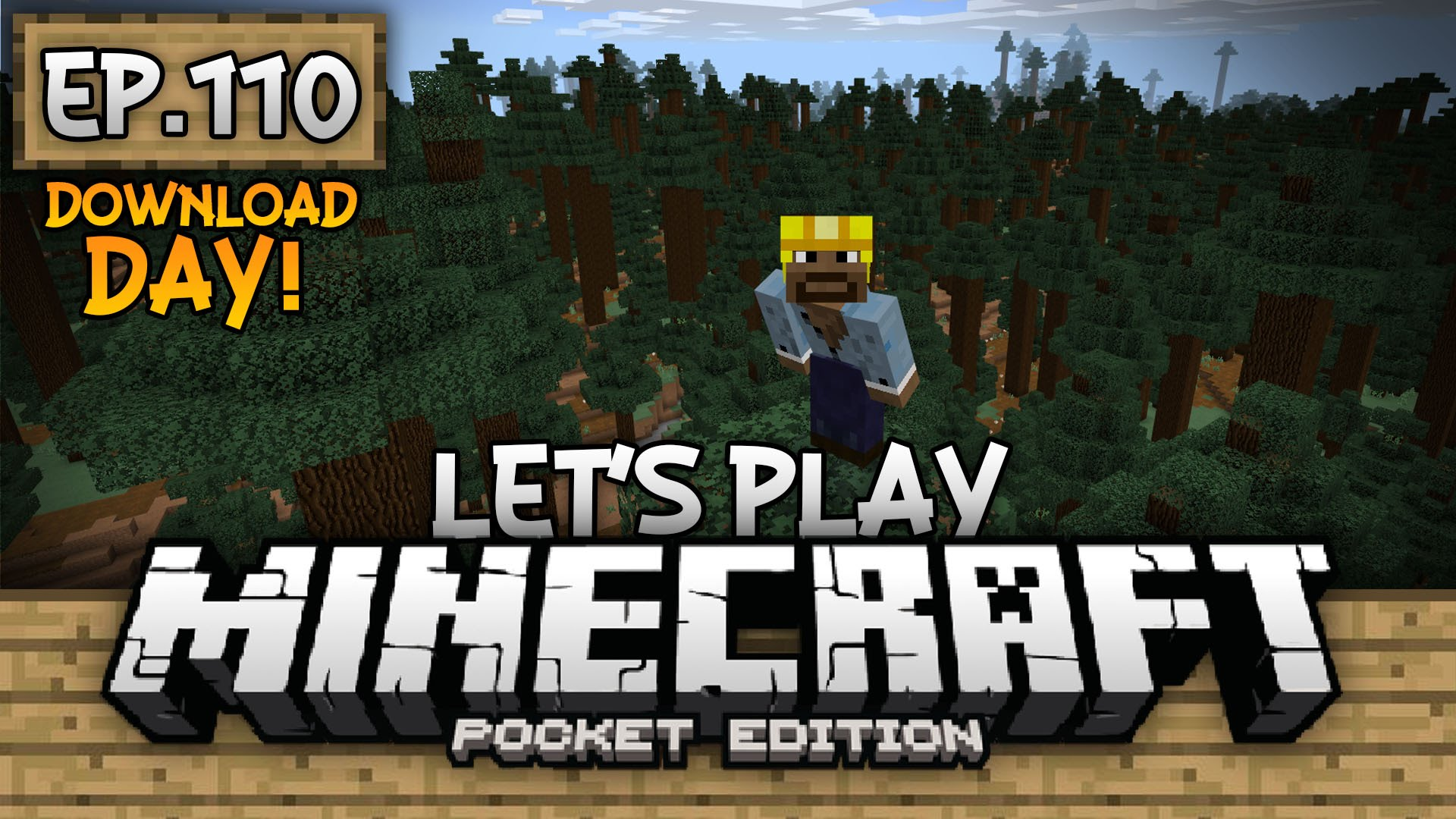 Minecraft: Pocket Edition - JFM's Lets play world download 110